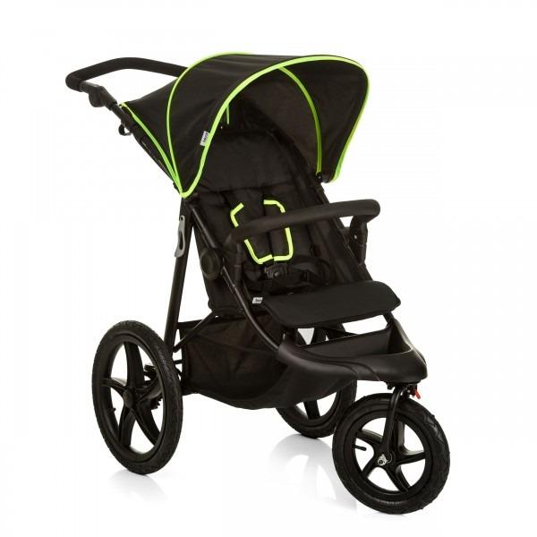 Silla de paseo Hauck Runner - neon y negro