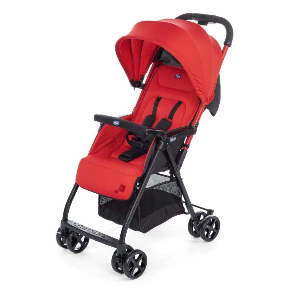 Silla de paseo Chicco OhLalà 2 - color rojo. Sin duda, ¡uno de los mejores carros de bebé ligeros!