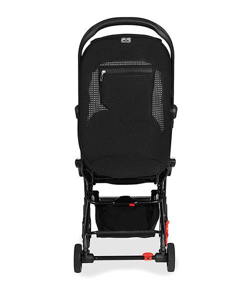 Carritos de bebé Maclaren Atom, silla de viaje - vista posterior con bolsillo