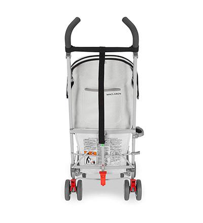 Carro de bebé Maclaren Volo - vista posterior
