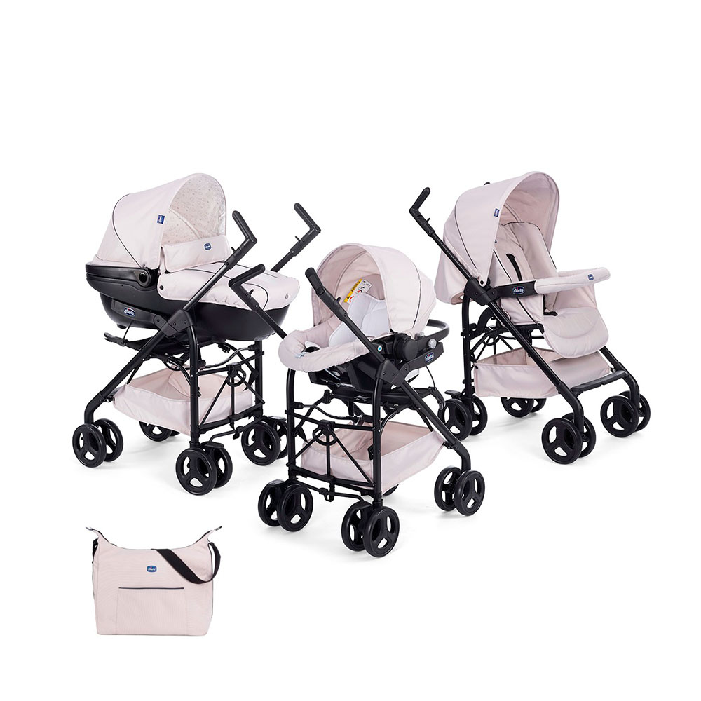 Carrito de bebé 3 en 1 Chicco Trio Sprint
