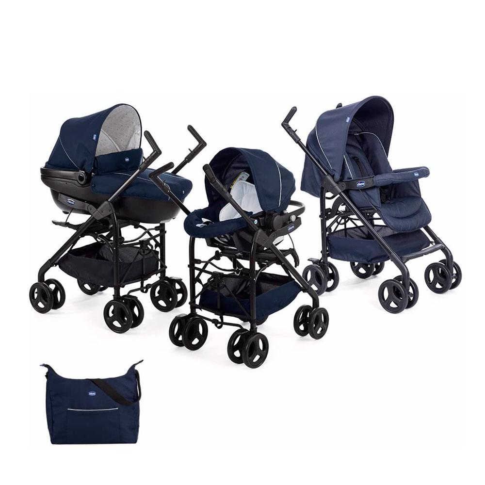 Carrito de bebé de 3 piezas Chicco Trio Sprint