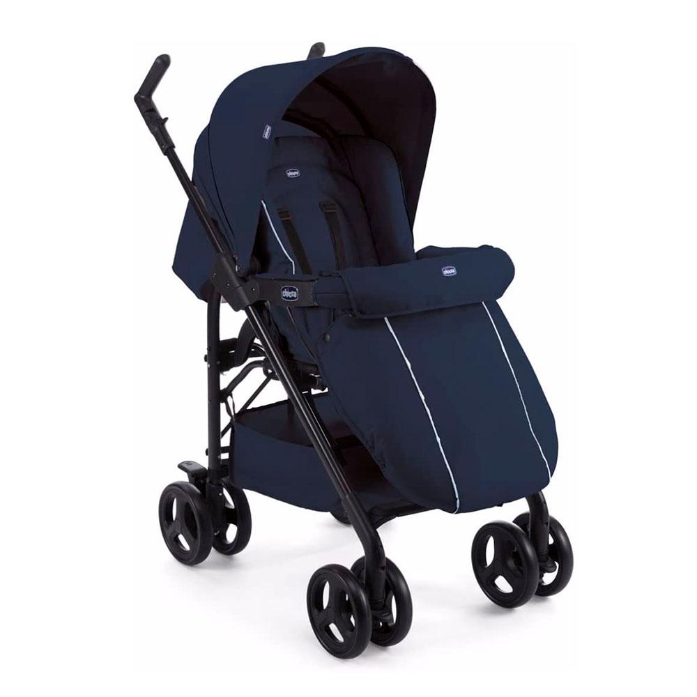 Carrito Chicco Trio Sprint - silla con saco de invierno