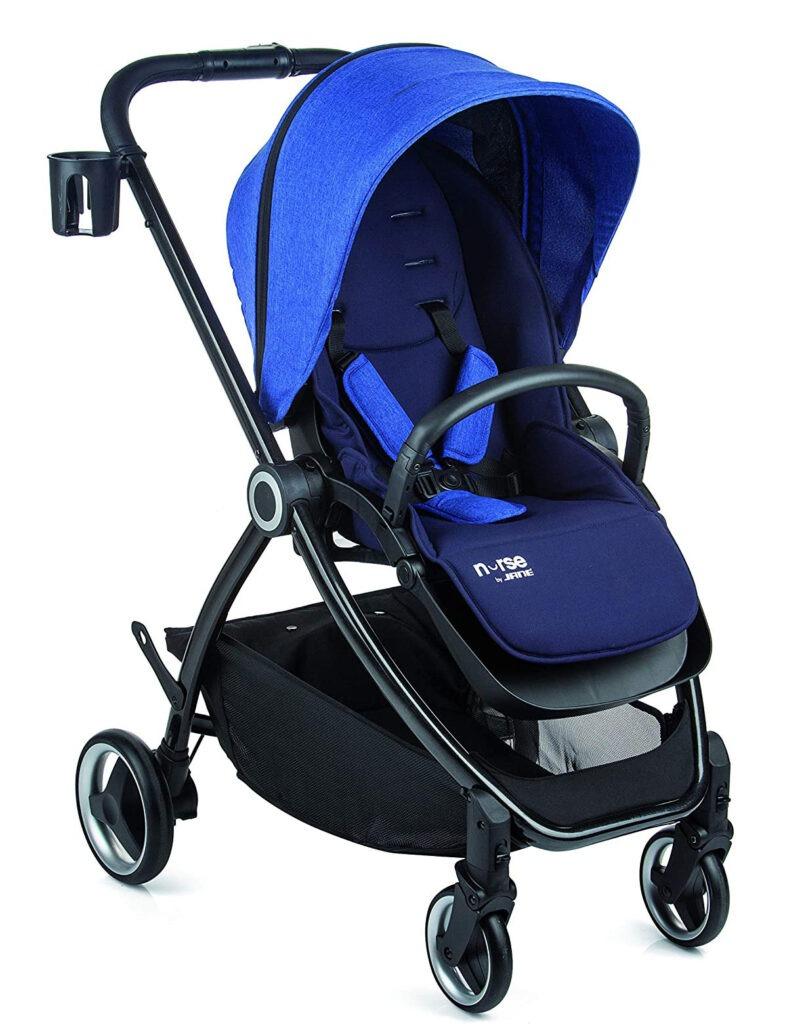 Carro de bebé Jané Nurse Fold - versión azul melange