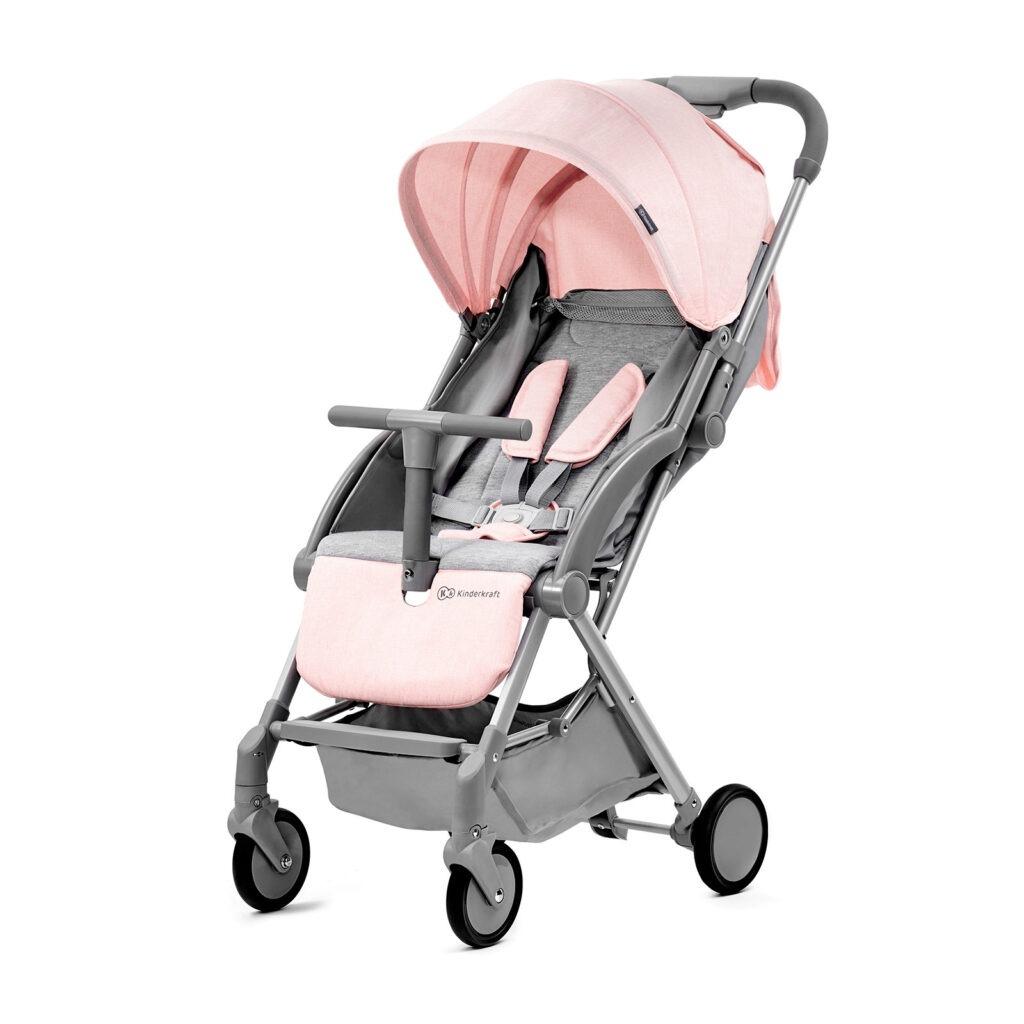 Kinderkraft Pilot pink - modelo en rosa