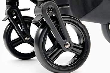 Tipos de ruedas para coches de bebé