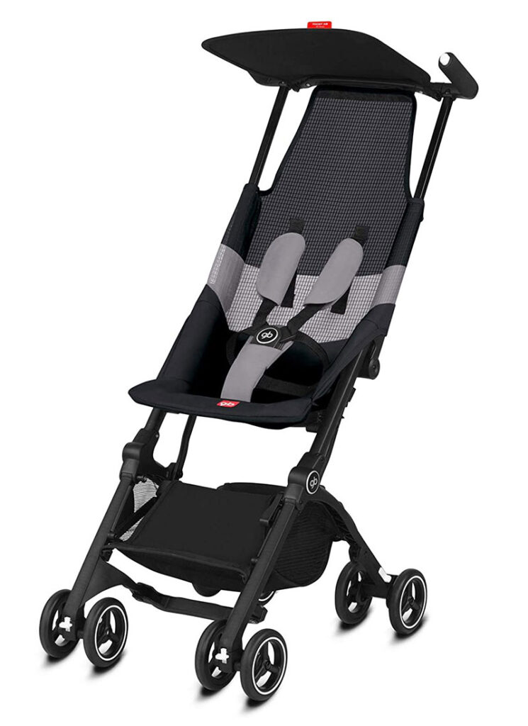 GB Gold Pockit Air All Terrain - carritos de bebé ligeros