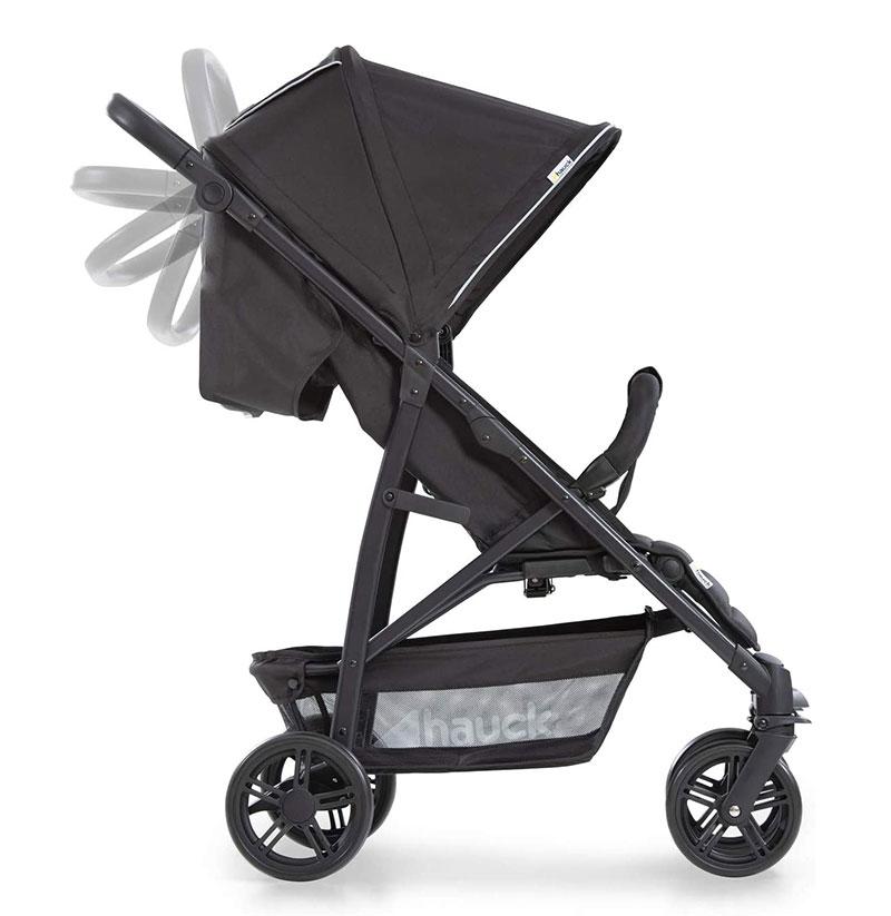 Carrito de bebé Hauck Rapid 4 - manillar regulable en altura