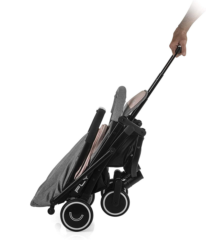 Carrito tipo trolley - Silla ligera Fly Nurse by Jané