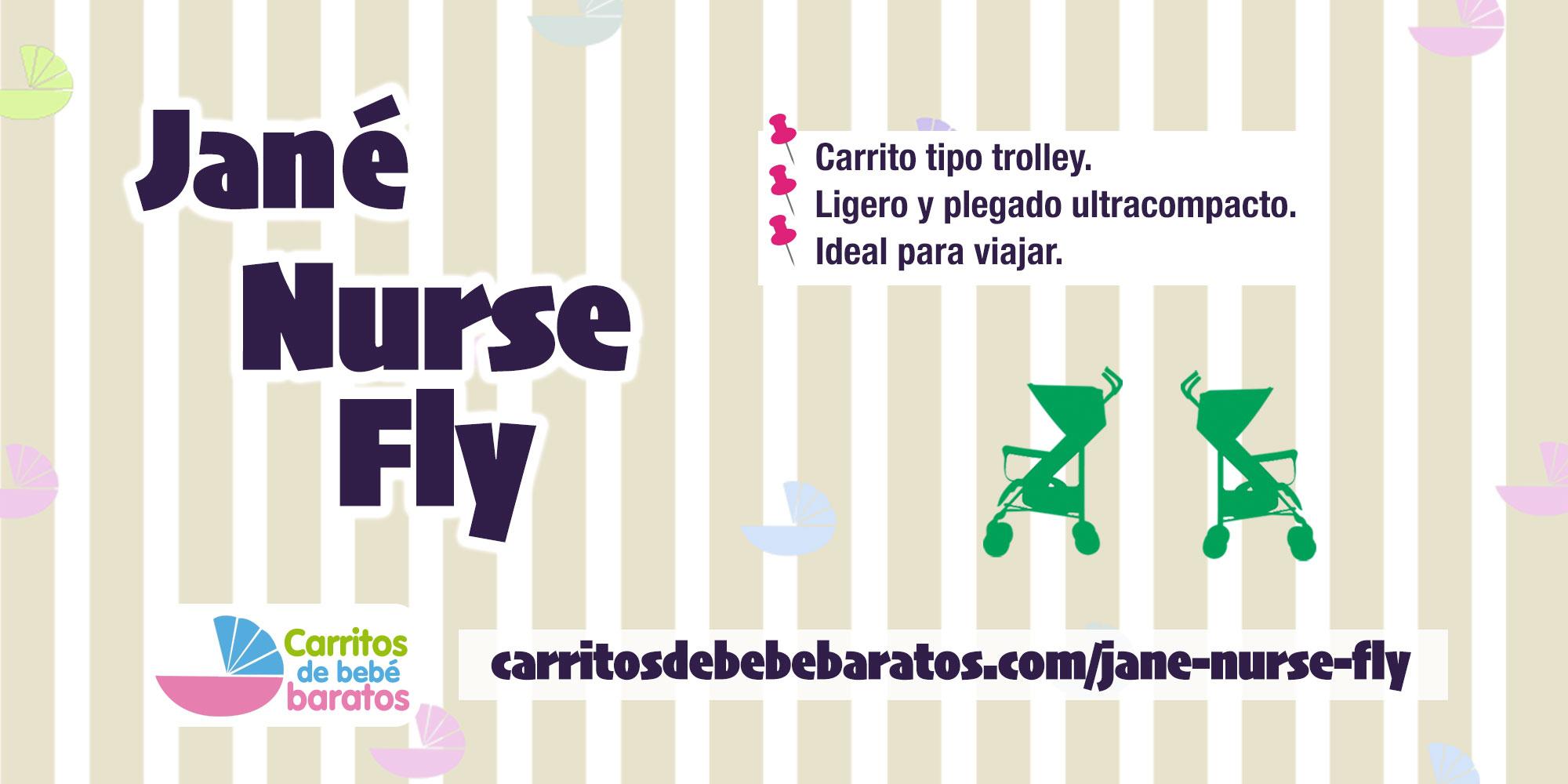 Silla de paseo Fly Nurse by Jané