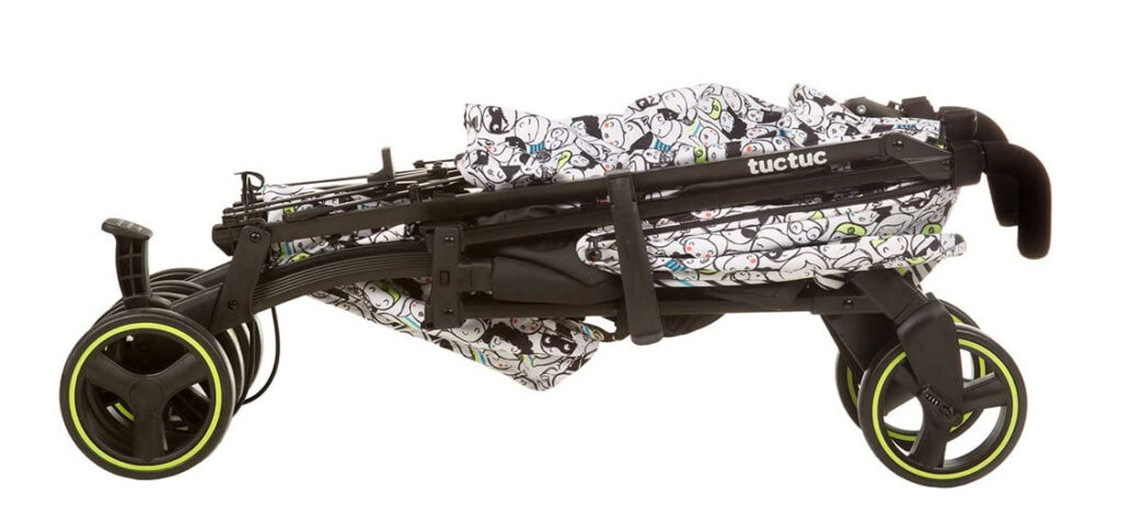 Carrito ligero Tuc Tuc Yupi - plegado tipo paraguas