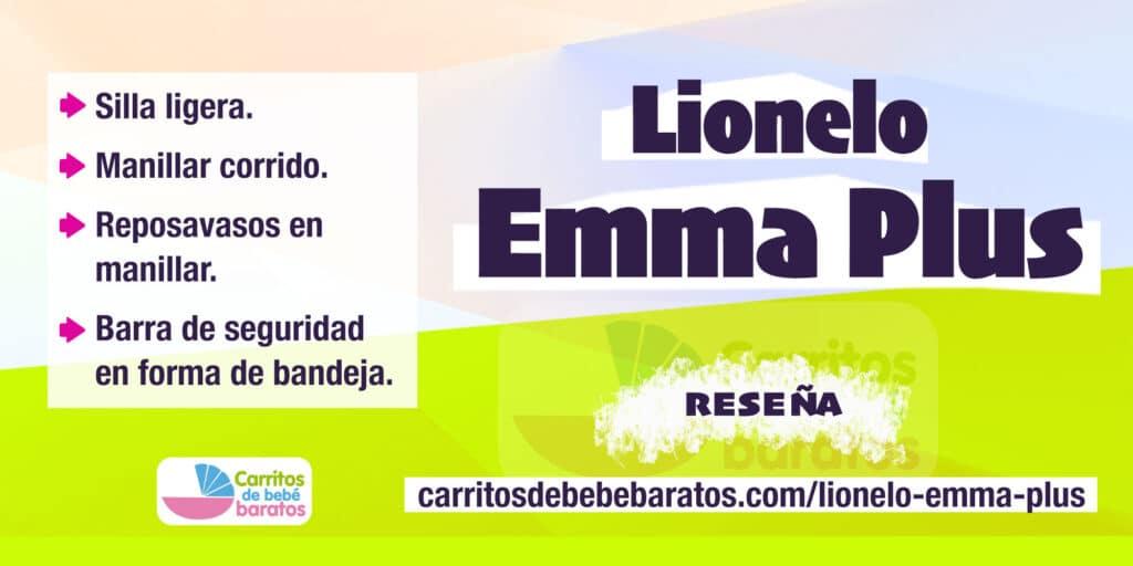 Silla de paseo Lionelo Emma Plus