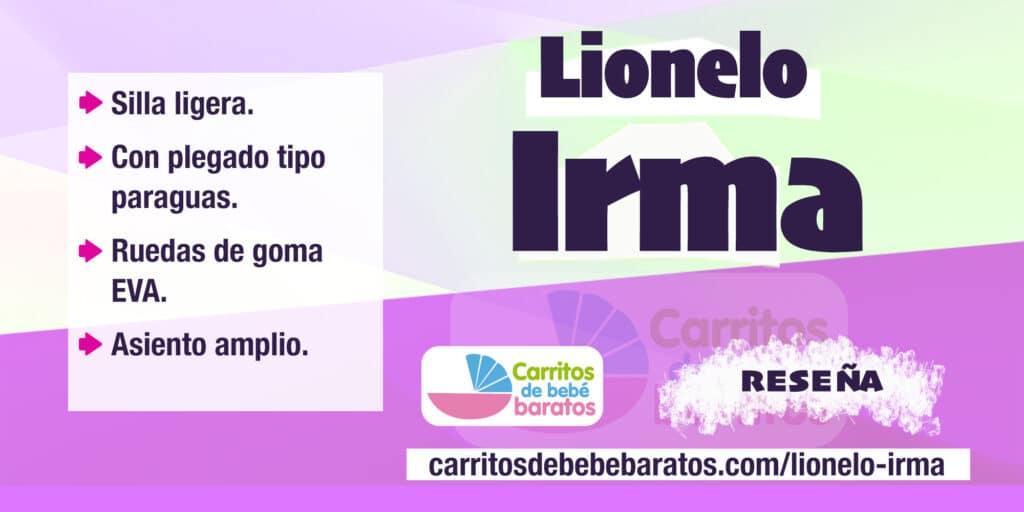 Silla de paseo ligera Lionelo Irma